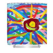 Sky Full Of Joys Shower Curtain