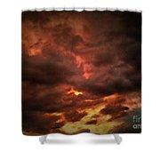 Sky Fury Shower Curtain