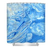 Sky Goddess Shower Curtain