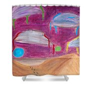 Sky Might Fall Shower Curtain