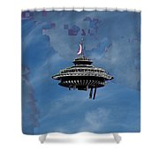 Sky Needle Shower Curtain