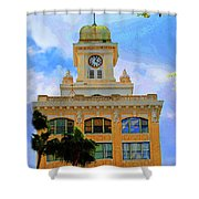 Sky Of The Hall Shower Curtain