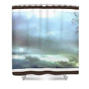 Sky Painting Shower Curtain