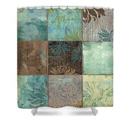Sky Patches I Shower Curtain