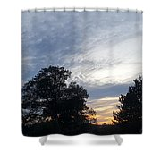 Sky Patchworks Shower Curtain