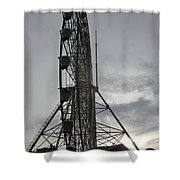 Sky Ranched Shower Curtain