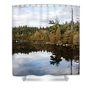 Sky Reflections Shower Curtain