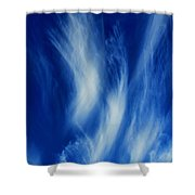 Sky Sculpting Shower Curtain
