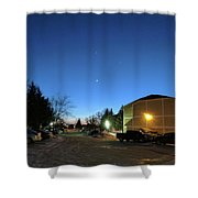 Sky Time Shower Curtain