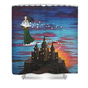 Sky Walker Shower Curtain