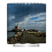 Fisgard Lighthouse Shower Curtain