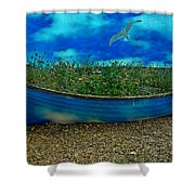 Skyboat Shower Curtain