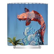 Skyfish Shower Curtain