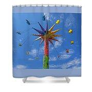 Skyflyer Shower Curtain
