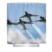 Skyhawk Double Farvel Shower Curtain