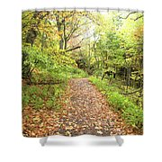 Skylands Trail H Shower Curtain