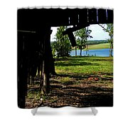 Skylights Shower Curtain
