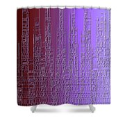 Skyline 3 Shower Curtain