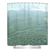Skyline #5 Shower Curtain