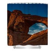 Skyline Arch At Sunset Shower Curtain