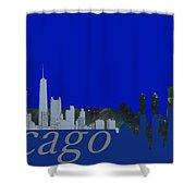 Skyline Chicago 4 Shower Curtain