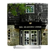 Skyline Drive - Big Meadows Shower Curtain