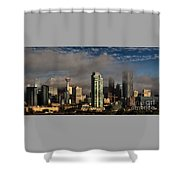 Skyline Fog Shower Curtain