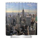 Skyline New York City  Shower Curtain