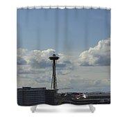 Skyline Of Seattle  Shower Curtain