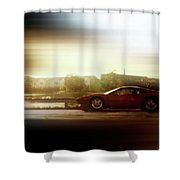 Skyline Speed Shower Curtain