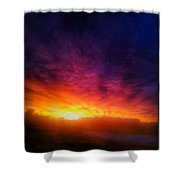 Skyporn Shower Curtain