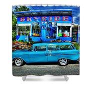 Skyride Shower Curtain