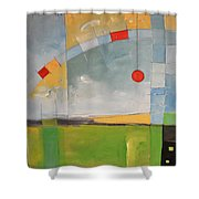 Skyride Shower Curtain