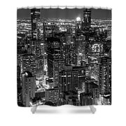 Skyscrapers Of Chicago Shower Curtain
