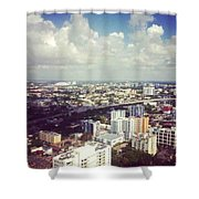 Sky'sthe Limit Shower Curtain