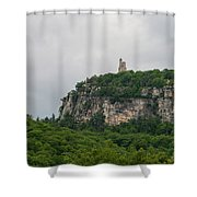 Skytop Tower In June 2018 Shower Curtain