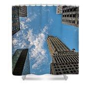 Skytops Manhattan Shower Curtain