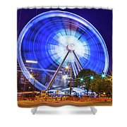 Skyview Atlanta Shower Curtain