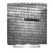 Skywalkers Bw Shower Curtain