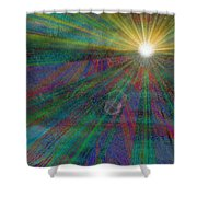 Skyward 2 Shower Curtain