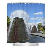 Skyward Water Shower Curtain