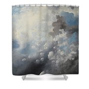 Skywards Shower Curtain