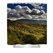 Skyway Clouds Shower Curtain