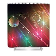 Slap Happy Christmas Lites Shower Curtain