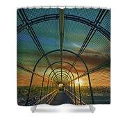 Slauson Sunset Shower Curtain