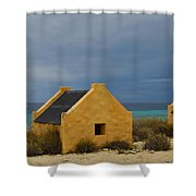 Slave Huts Shower Curtain