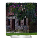 Slave Quarters Shower Curtain