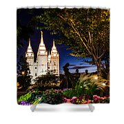 Slc Mother And Children Shower Curtain