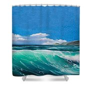 Slea Head Co Kerry Dingle Shower Curtain