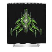 Slee-warship Shower Curtain
